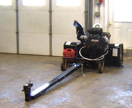 Utility Vehicle Snow Blower-Snow Blower for a Utility Vehicle