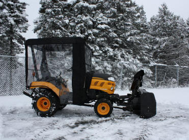 Compact Utility Tractor Cab