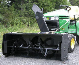 Tractor Riding Mower Snowblower Skid Steer Implements Combines