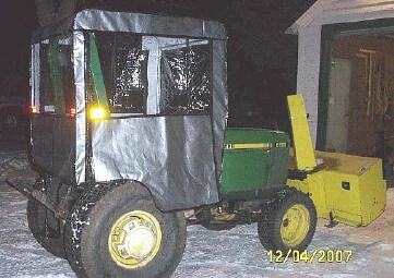 Tractor Cab - Universal Tractor Cab