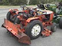 Case Garden Tractor Repower Ingersoll