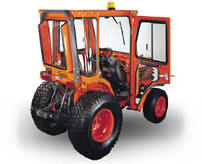 Curtis Cab for Kubota  Compact tractor