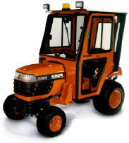 Curtis Cab for Kubota Small tractor
