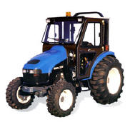 Curtis Cab - New Holland compact tractor