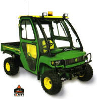Curtis cab for HPX Gators - hard sided