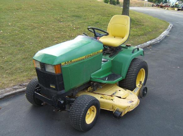 John Deere 455 garden tractor