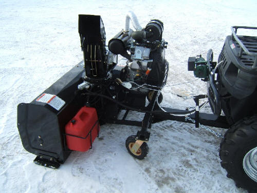 Utility Vehicle Snow Blower Snow Blower For A Utility Vehicle