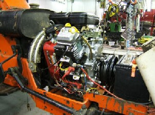 Simplicity Tractor - Repower - Simplicity System 9020