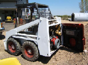 Small Engine Repower Bobcat Skid Steer