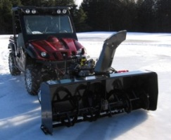 Snowblower attachment - Vantage