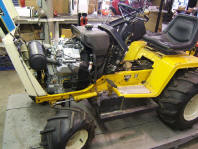 Cub Cadet with 35 hp repower