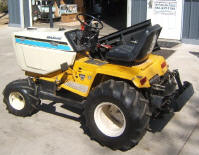 Super Cub Cadet after 35 horsepower Vanguard repower