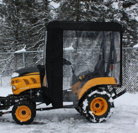Compact utility tractor cab 700555