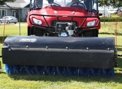 "UTV and ATV 66"" power broom"