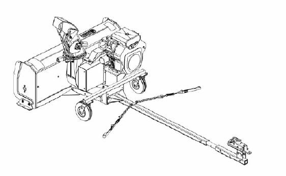 utility vehicle snow blower