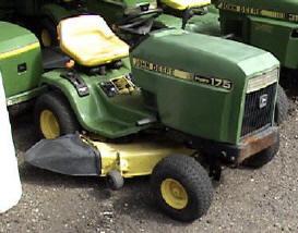 John Deere 175 Garden Tractor With 38 Inch Mower Deck