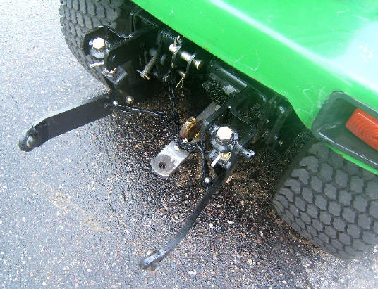 3 Point Hitch For Attachments Three A Garden Tractor
