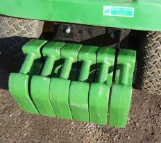 John Deere 318 >> Tractor Weight-Tractor Weight Bracket
