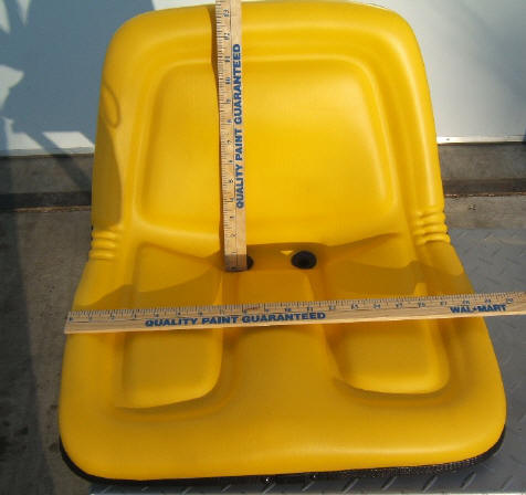 Garden Tractor Seat Measurements